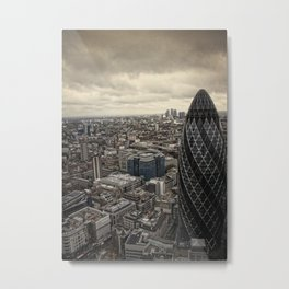 London from the 39th floor Metal Print
