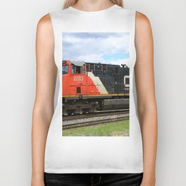 Canadian National Railway Biker Tank