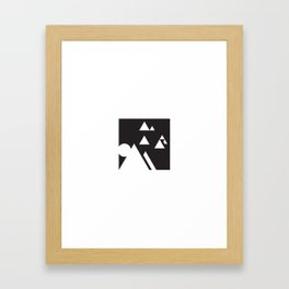 ABSTRACT_03_THE DAY Framed Art Print