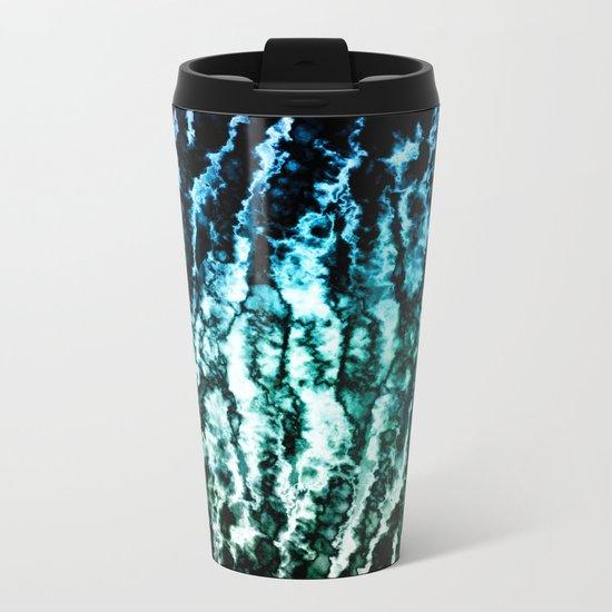π Blue Tureis Metal Travel Mug