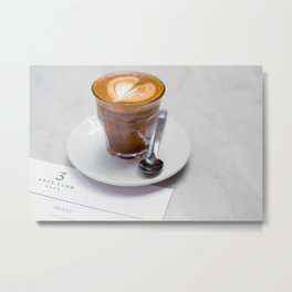 Chicago Cortado Metal Print