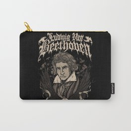 Death Metal Beethoven Carry-All Pouch