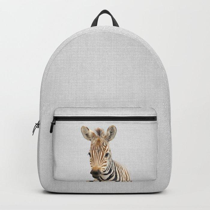 Baby Zebra - Colorful Backpack