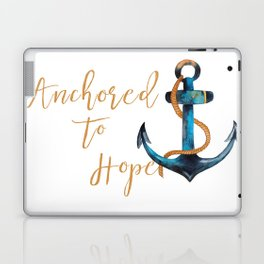 Anchored to Hope Laptop & iPad Skin