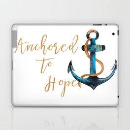 Anchored to Hope Laptop & iPad Skin