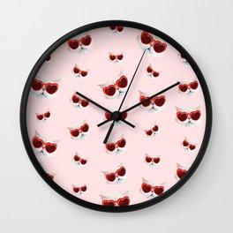 Lord Aries Cat - Pattern 003 Wall Clock