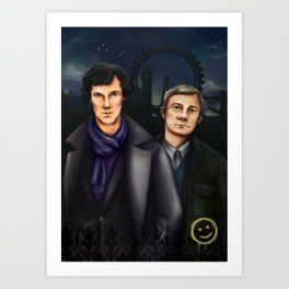 consulting detective. Art Print