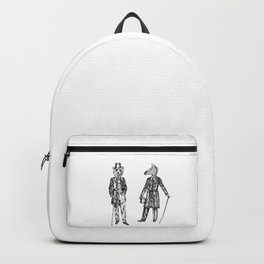 "Brix and Bailey ""Good Morning Sir"" Backpack"