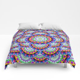 Mandala Psychedelic Visions G324 Comforters