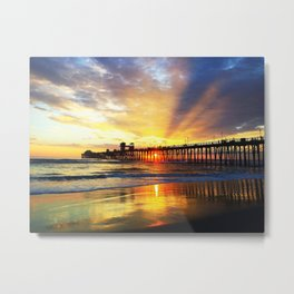 Waves of Solace Ultimate Metal Print