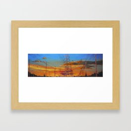 Netting Framed Art Print