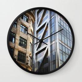 Old New Wall Clock