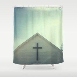 Church + Sky Shower Curtain