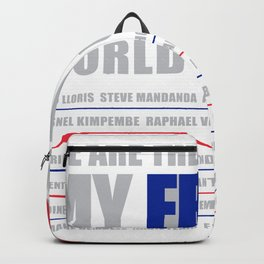WORLD CUP 2018 FRANCE champion Backpack