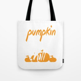 Pumpkin Spice And Chill Halloween Tote Bag