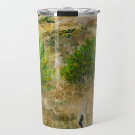 Boise Idaho foothills painting Travel Mug