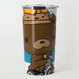 Cute Kuma Brown Bear Travel Mug