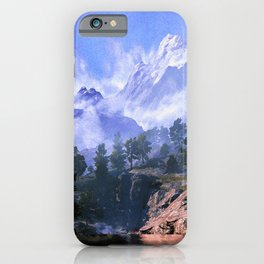 Our beloved mountains iPhone Case