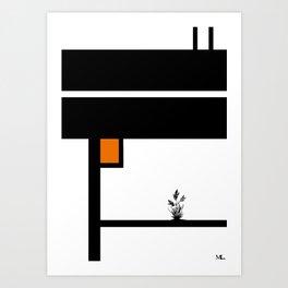 Keep Reaching Art Print