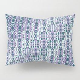 "Cos(a × (n × j^2 + k × i^2)) × 0.7 [""70s Pattern""] - [PIXEL ZOOM] Pillow Sham"