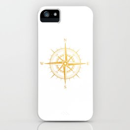 Rose of the Winds iPhone Case
