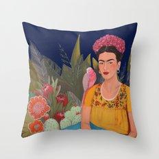 Frida.licious Throw Pillow