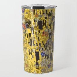 Gold Explosion Travel Mug