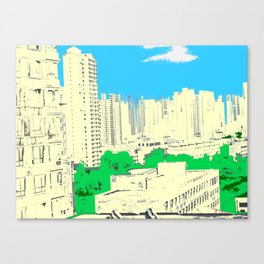 Brick Forest Canvas Print
