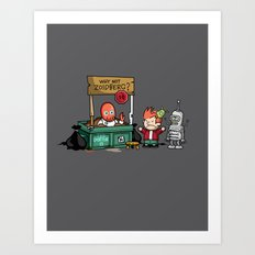 The Doctor is In.... Why not Zoidberg? Art Print