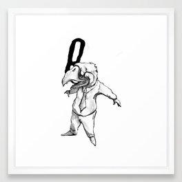 anão Framed Art Print