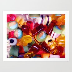 stickly sweet Art Print