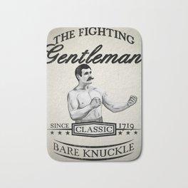 The Fighting Gentlemen Bath Mat