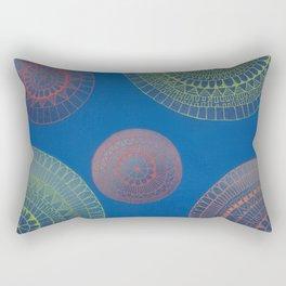 Graffiti & Mandalas Rectangular Pillow
