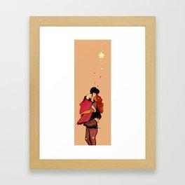 kisses like honey  Framed Art Print