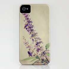 Texas Lilac and Bees iPhone (4, 4s) Slim Case