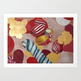 Candy World Art Print
