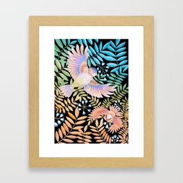 Tropical Bird Framed Art Print