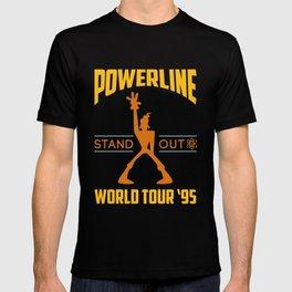 Powerline World Tour 95' Concert Tee T-shirt
