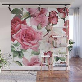 Big Rose Boooyah! Wall Mural