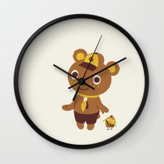 Door To Door Wall Clock