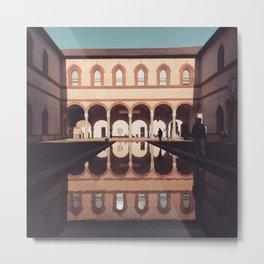 Architecture love » Milan italy Metal Print