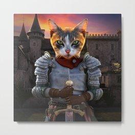 My Lord of Feline Metal Print