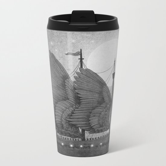 Night Odyssey  Metal Travel Mug
