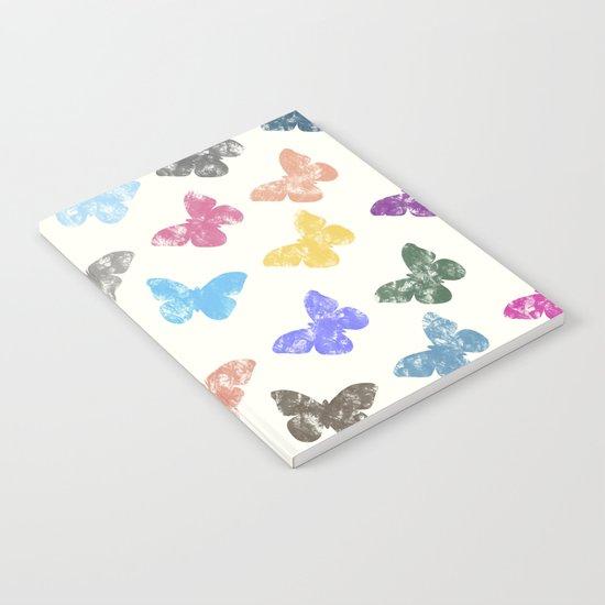 Colorful butterflies Notebook