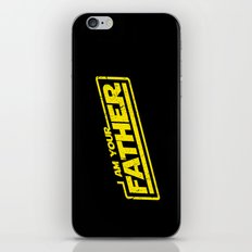 I Am Your Father (yellow distressed) iPhone & iPod Skin