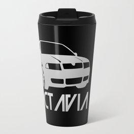 Skoda Octavia - silver - Travel Mug