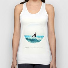 Surf Quote Unisex Tank Top