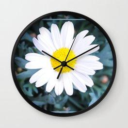 SMILE - Daisy Flower #1 Wall Clock
