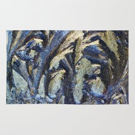 frost painting Rug