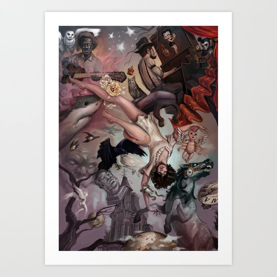 Theater of Lucid Dreaming Art Print